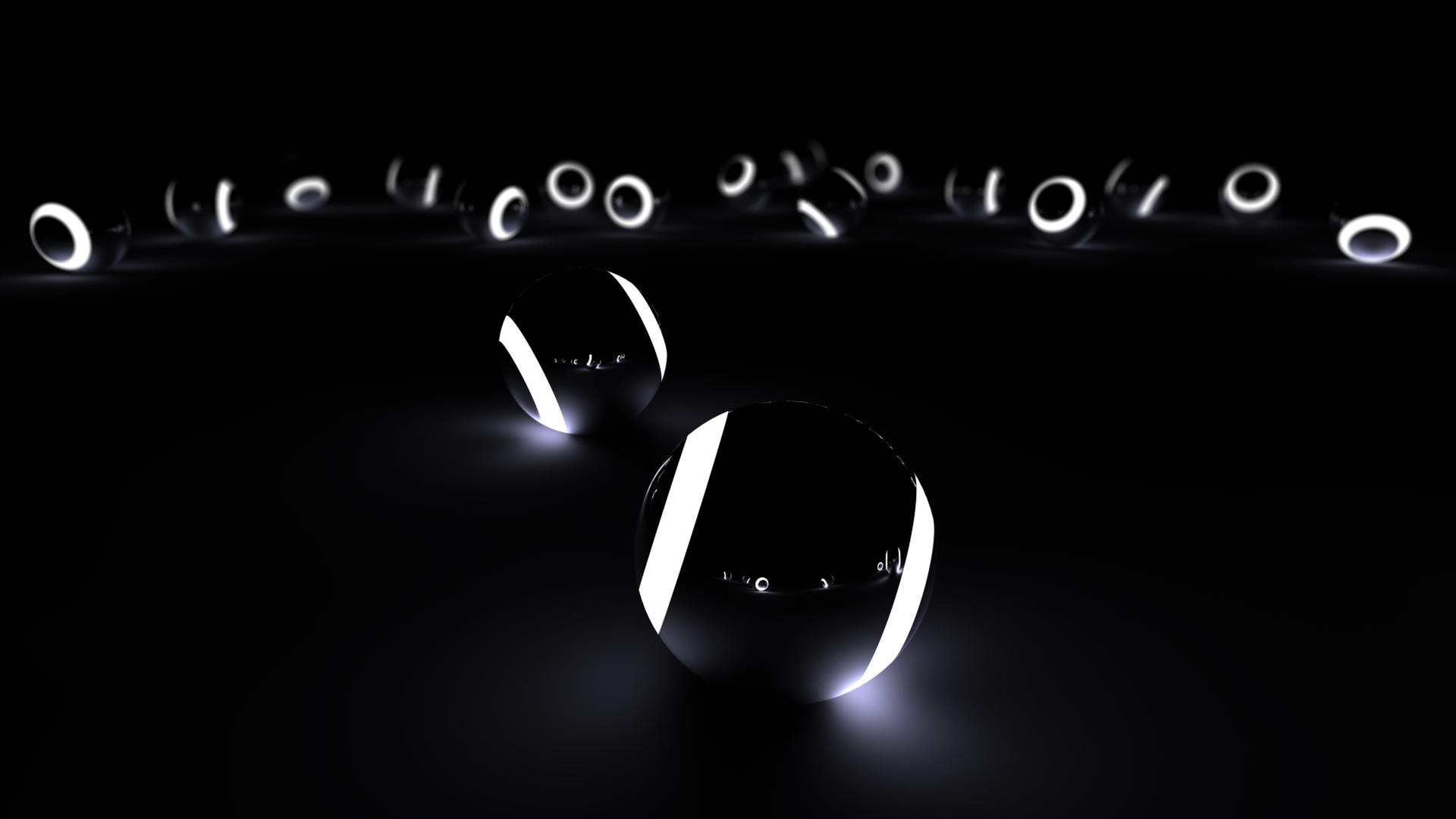 BlackWhite Balls