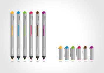 Vector - Pens by ZOOMnexx