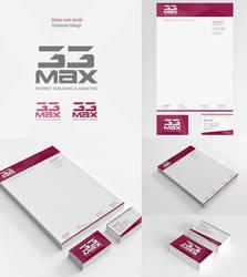 33max.com GmbH Corporate Design