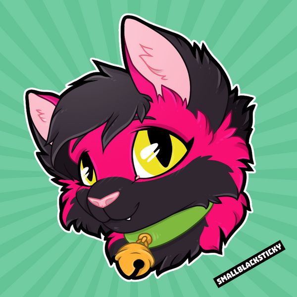 Headshot for Fizzy Haze [commission]