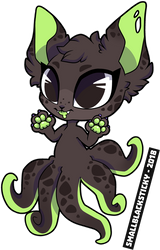 Squiddly Kitten v3 [personal] by Smallblacksticky