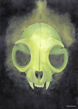 Green cat skull [personal]