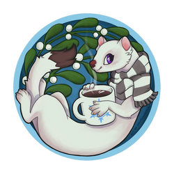 Coaster design for NFC19 [commission] by Smallblacksticky