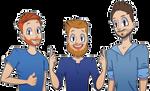 Livetsomgamer [commission] by Smallblacksticky