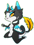 Spliced Dragon Cat [redraw, personal]