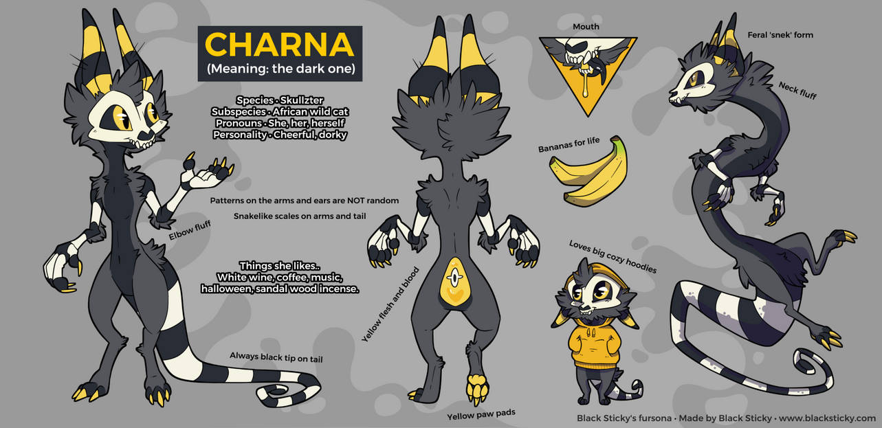 Charna Reference Sheet [personal]