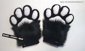 Derp Fox Paws [commission]