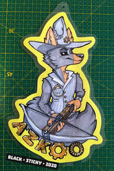 Azkoo Traditional Badge [commission]