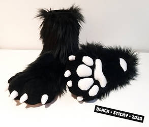 Derp Fox Feet Paws [commission]