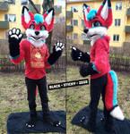 Derpy Fox Partial [commission]