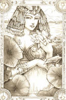 Tarot Isis by DubuGomdori