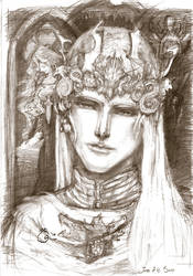 Prince Rhaegar Targaryen by DubuGomdori