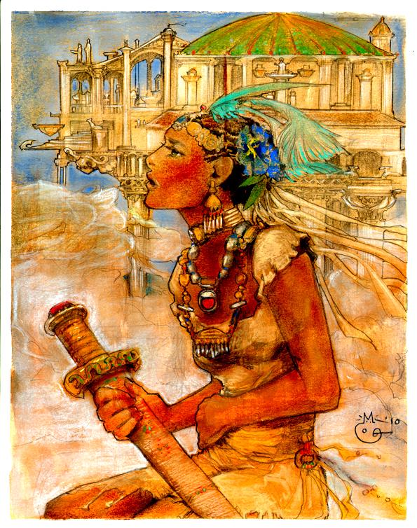 Hundred Thousand Kingdoms Yeine by Jemisin by DubuGomdori