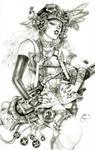 Steampunk Lady Blackhawk Zinda Blake