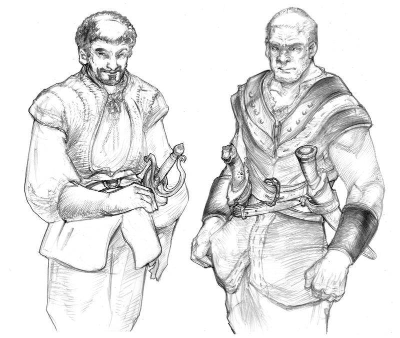 FirstSwords Of Braavos by DubuGomdori