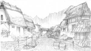 Harrenhal River Land Village by DubuGomdori