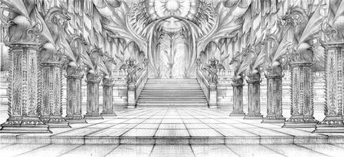 DragonStone Courtyard by DubuGomdori