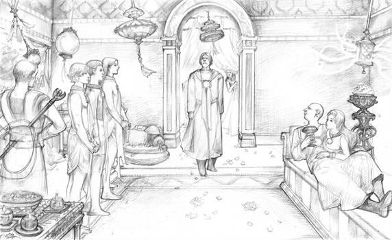 Masters Of Meereen Harem by DubuGomdori