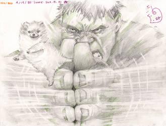Hulk Swooosh Doggie by DubuGomdori