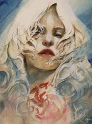 Commission Daenerys Targaryen by DubuGomdori