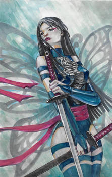 Marvel X-Men Samurai Psylocke II