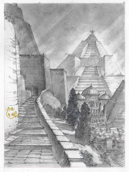 Meereen Distant Pyramid