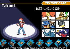 Pokemon X Trainer Card by Furycutter