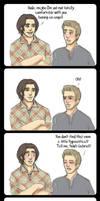 Awkward choice of boyfriends by AngelicFoodCake