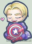 Cap hearts his shield