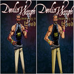 Devlin Waugh: Swimming in blood - Cover comparison by Mattyred