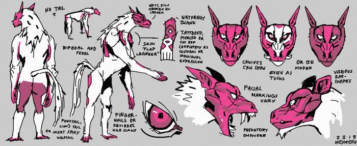 [OPEN SPECIES] REFSHEET // Meerwolf