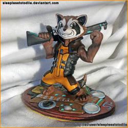 Rocket Raccoon Sculpt