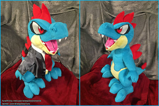 Toshabi Croconaw Plush Commission
