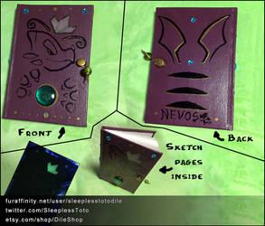 Magic themed Sketchbook by SleeplessTotodile