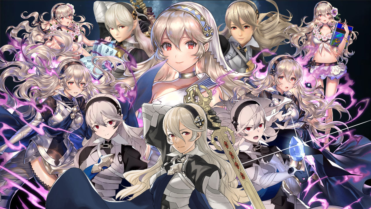 Corrin Female Wallpaper 1366x768 By Diegosonic81 On Deviantart