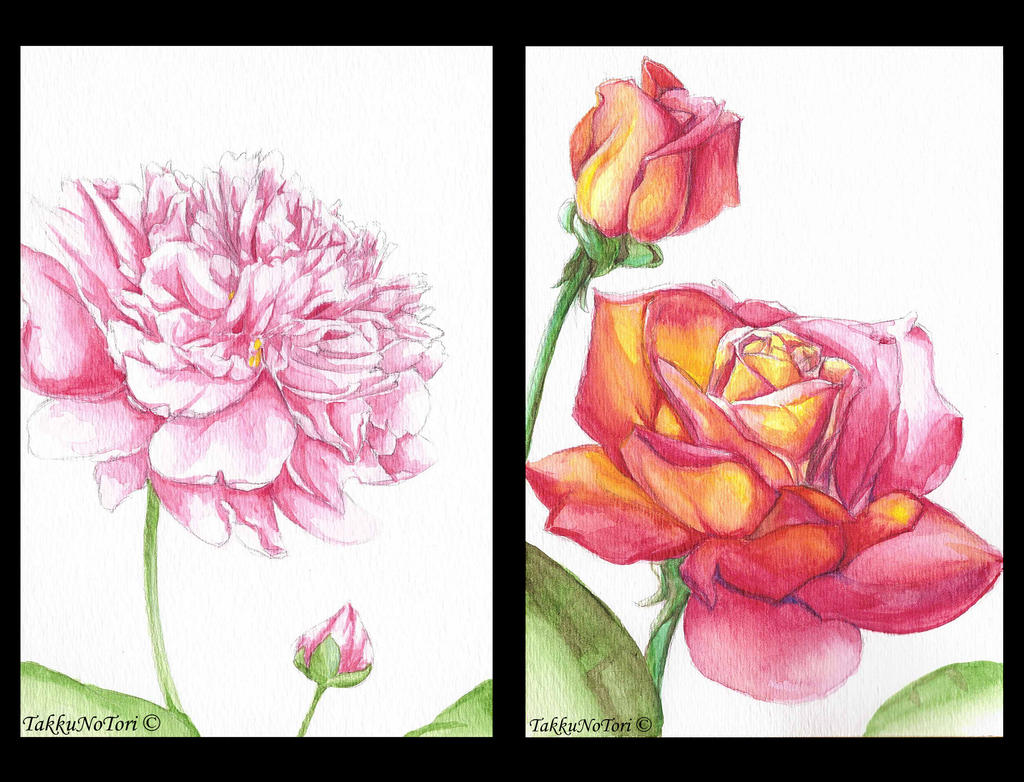 Flowers For Mom by TakkuNoTori on DeviantArt