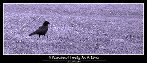 I Wandered Lonely As A Crow