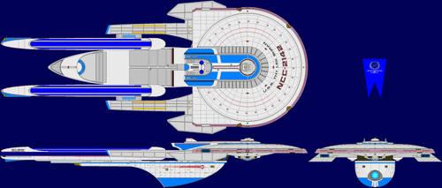 USS Thy'lek Shran by MarcusStarkiller