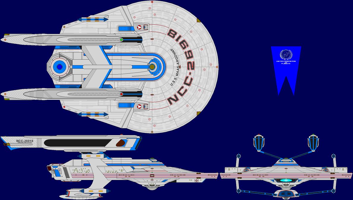 USS Maas-Argonne by MarcusStarkiller