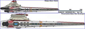 Wampa Class Cruiser and Preservation Class SD
