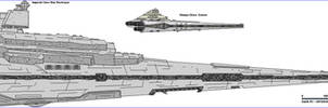 Imperial Class SD and Wampa Class Cruiser