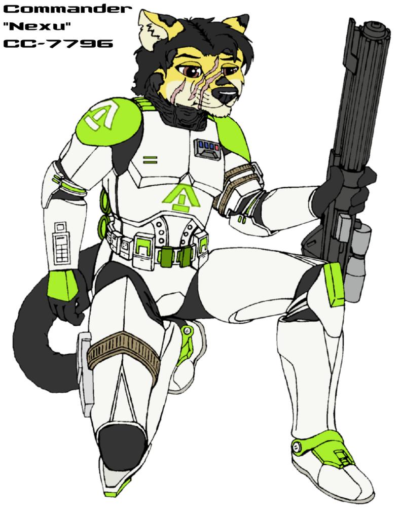 Commander 'Nexu' CC-7796 by MarcusStarkiller