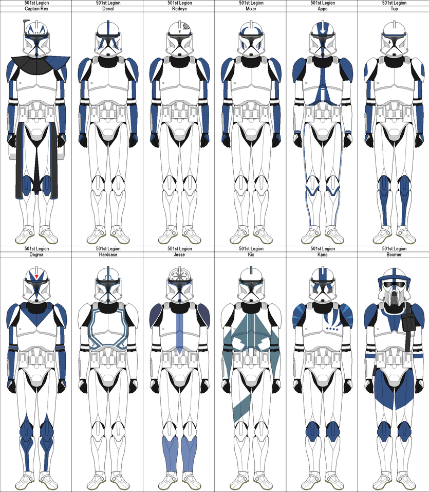 phase 1 501st clones by marcusstarkiller on deviantart super star student clipart star student of the week clipart