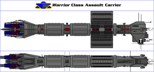 Warrior Class Assault Carrier by MarcusStarkiller
