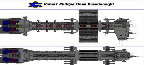 Robert Phillips Class Dreadnought by MarcusStarkiller