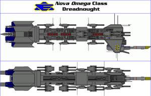 Nova Omega Class Dreadnought by MarcusStarkiller
