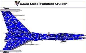 Galen Class Standard Cruiser by MarcusStarkiller