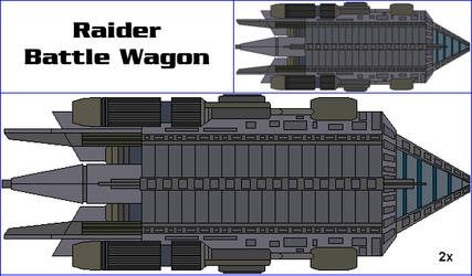 Raider Battle Wagon