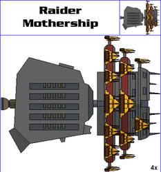 Raider Mothership by MarcusStarkiller