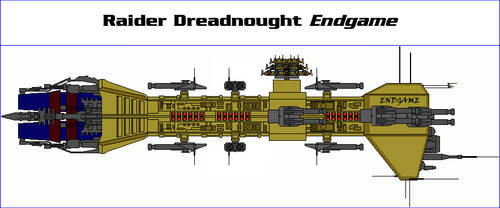 Raider Dreadnought Endgame by MarcusStarkiller